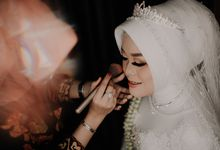 Intimate Wedding Fedita & Ubet by Calia Catering