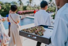 Tomoko & Dan Wedding by Kaminari Catering