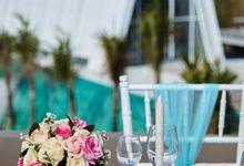Hang Loose Wedding Lunch by X2 Bali Breakers Resort