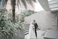 Intimate Wedding Of Fira & Ridwan by Nukami Photona