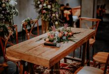 The Wedding Peggy & Anka by AVIARY Bintaro