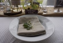 VIP Table Decoration Rustic Theme by Dine Decor Jakarta