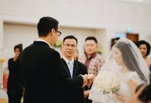 Klemens & Nathania Wedding Highlight by  Menara Mandiri by IKK Wedding (ex. Plaza Bapindo)