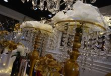 Table Decoration Elegance Theme by Dine Decor Jakarta
