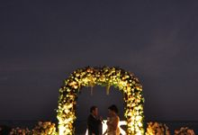 The wedding of  Larry & Anastasia by Dua Insan Decoration