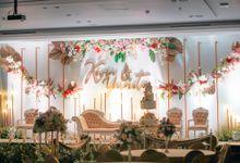 THE WEDDING OF KEVIN & YUNITA by GLORIOSA DECORATION