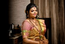 Bride Prashanthi by Sharmi's Bridal Studio