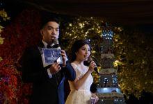Wedding Admojo & Silviana feat Cak Lonthong & Tarik at Shangrila Surabaya by Aldo Adela MC & Magician