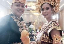 i putu partadiyasa & made paramita resepsi by Our Wedding & Event Organizer