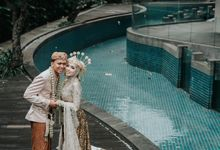 GKM GREEN TOWER WEDDING OF DESTY & RAMA by alienco photography