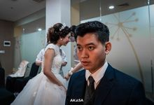 The wedding of Reza & Moudy by Akasa