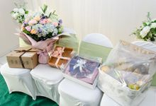 rina & agus engagement decoration by Our Wedding & Event Organizer