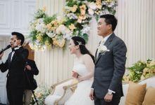 The Wedding of Andrew & Natasha by  Menara Mandiri by IKK Wedding (ex. Plaza Bapindo)