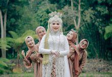 Intimate Wedding Sofi & Ruby by Qurotta.imagine