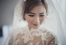 Wedding make Up Amanda by nof makeup