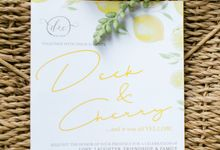 Yellow Wedding of Deck and Cheri by Pepe Fernandez Photo