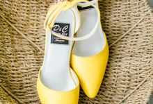 Yellow Wedding of Deck and Cheri by Pepe Fernandez Photo