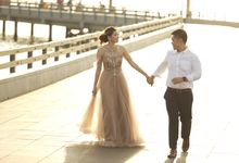 Shinta and Aldo Prewedding by Michelle Bridal