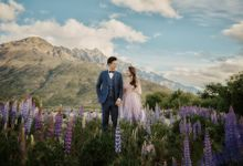 Ruby and Jeffree by Queenstown Pre-Wedding Specialist: James Hirata
