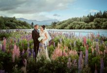 Danahi and Bo by Queenstown Pre-Wedding Specialist: James Hirata