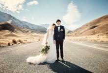 Shizuka and Tomoki in Queenstown by Queenstown Pre-Wedding Specialist: James Hirata