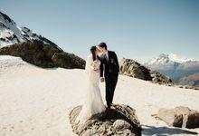 Niklas and Rebekah in Queenstown by Queenstown Pre-Wedding Specialist: James Hirata