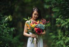 Rustic Eclectic Bouquet by Petalfoo