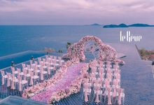When the Sky Meets the Ocean by Le Rêve Events International