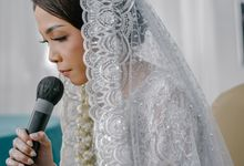 From the Wedding Nelsa + Alam // by Level Up Photography