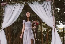 Wedding lookbook with Ohvola by The Glow BeautyBar
