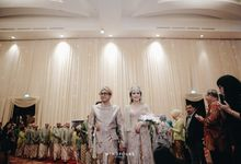 ZIA & DWI - WEDDING RECEPTION by Promessa Weddings