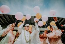WEDDING GHILMAN & HUSNUN by Atmikha Photo Project