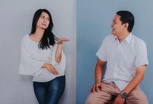 Prewedding Vajar & Anggie Studio Sessions by RumahKita Productions