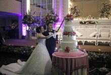 The wedding of Zosimus Kelvin & Monica Agi Yoant by ID Organizer