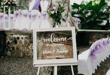 Unique Wedding at Tirtha Gangga Water Palace by Happy Bali Wedding