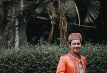 Venisya & Dimas Wedding at Home, Jakarta by Mirza Photography