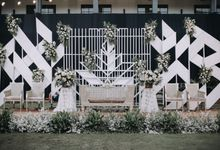 Dhiny & Yoga Wedding at Gedung Arsip Nasional by Mirza Photography