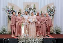 Intimate Wedding Disa & Rizqi @Mercure Alam Sutra by Thebridewears