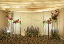 The wedding of Hadi & Evelyn by Vica Decoration