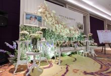 The wedding of Ryan & Devy by Vica Decoration