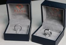 Custom Made Wedding Bands by Elise Jewellery