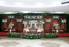yoga & riva decoration by Our Wedding & Event Organizer