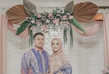Engagement of Diah & Tito by Arkarna Design