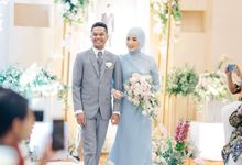 The Wedding of Novi and Rion by Kate Bridal and Couture