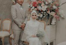 The Wedding of Ilham & Cicik by Bride & Groom's Kitchen