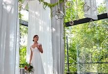 The latest wedding ceremony  set up at The Glass House by Tirtha Bali