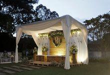 ben & aat wedding decoration by Our Wedding & Event Organizer