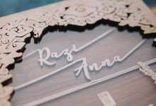 Anna & Razi Wedding at Villavi  by Milandbay by Mirza Photography