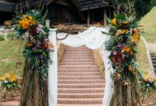 Yuna & Adam Weddings by Puncak Rimba
