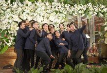JAVANESE RECEPTION OF MELISSA & ZULFIKAR by  Menara Mandiri by IKK Wedding (ex. Plaza Bapindo)